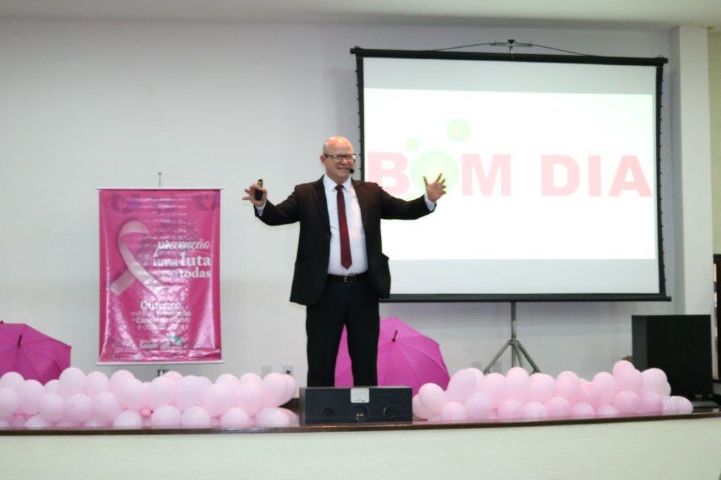 Outubro Rosa Palestra Motivacional Reúne Mulheres Eleva