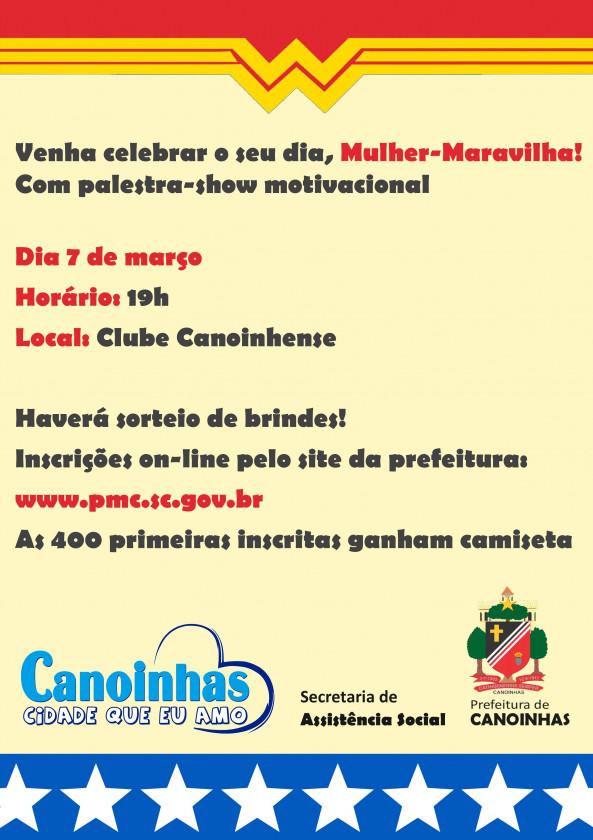 Prefeitura De Canoinhas Vai Celebrar O Dia Internacional Da