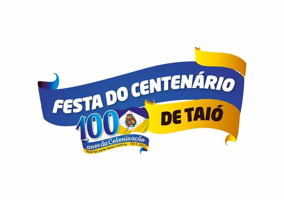 Conheça a logomarca oficial da Festa do Centenário da Colonização de Taió 1a1f0970173